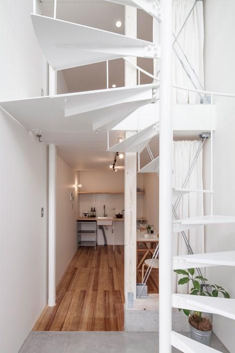Skinnyhouse en jap n la nueva tendencia de las casas for Casas estrechas