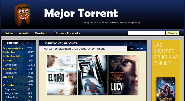 paginas de torrents